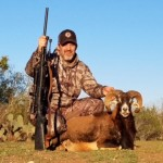 Mouflon ram hunt