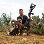 MOUFLON RAM HUNT IN SOUTH TEXAS