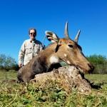 trophy nilgai antelope hunt in texas