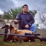 trophy catalina goat hunt in texas