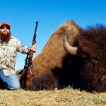 Bison Buffalo Hunt in Texas