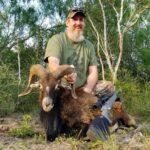 trophy mouflon hunt in texas