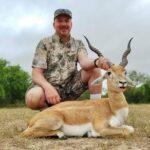 trophy blackbuck hunt in texas
