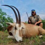 trophy scimitar horned oryx hunt